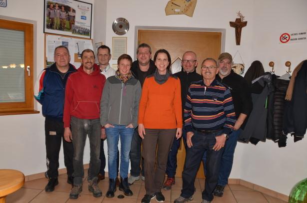 Norbert Oberburger , Werner Runggaldier, Georg Thaler, Antonia Lee, Roman Lechthaler, Barbara Khuen, Markus Prader, Günther Wohlgemuth, Luciano Amistani (v.l.n.r.)