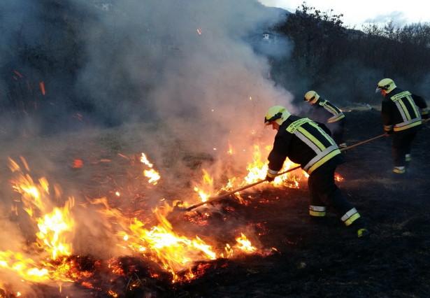 Brand Feuer Feuerwehr
