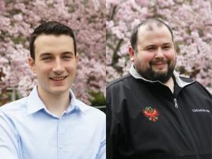 Peter Gruber und Philipp Holzner