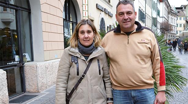 """Rosa Maria Cagol mit ihrem Mann Matthias Kutzler: """"Ich bin ein psychisches Wrack."""""""
