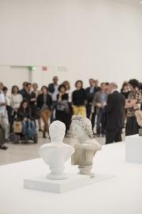 """Führung durch die Ausstellung """"Museo Museion"""" von Francesco Vezzoli (Foto Luca Meneghel)"""