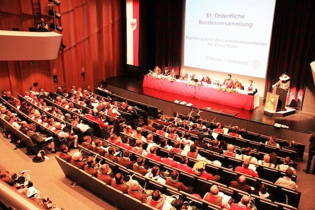 Die Bundesversammlung der Schützen (Foto: SSB)