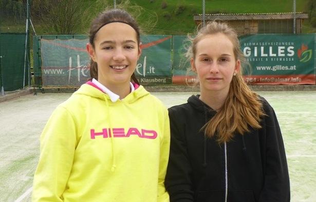 Tamara Berger und Sarah Schmid (Fotos: Walter Oberhuber)