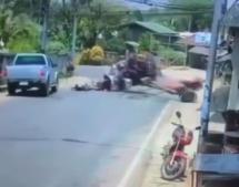 Kurioser Crash