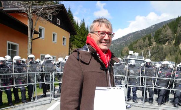 Florian Kronbichler am Brenner (Foto: Leo Angerer)