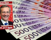 Ebners Einkommen