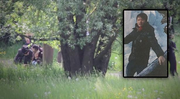 Der Fundort der Leiche, das Opfer (Fotos: Eco di Bergamo, Corriere dell'Alto Adige)
