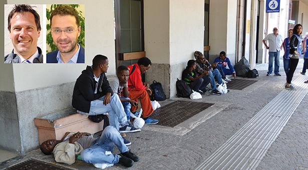 flüchtlinge pu