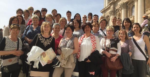 Handwerkerfrauen in Rom