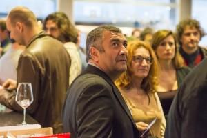 """Mano Khalil, Festivalgast und Regisseur von """"Die Schwalbe"""", dem Film, den die Schülerjury ausgezeichnet hat"""