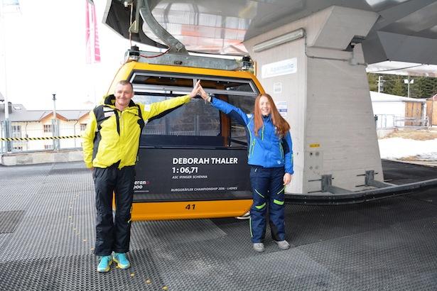 Roland Gschnitzer und Deborah Thaler