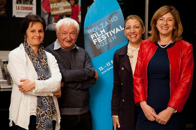 Filmtage-Team Alma Vallazza, Martin Kaufmann, Antonella Arseni und Helene Christanell: Ein Drittel mehr Besucher (Foto: Oliver Oppitz)