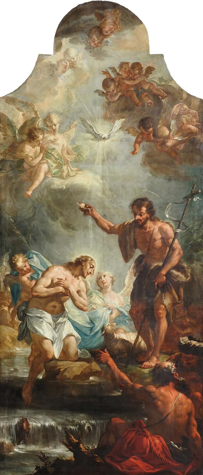 Altarbild von Franz Sebald Unterberger