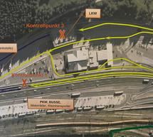 Der 400-Meter-Zaun