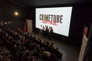 Crimetube-Premiere im Filmclub: Eine Webserie, die auch auf der großen Leinwand funktioniert (Foto: Manuela Tessaro)