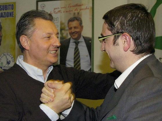 Sergio Divina und Maurizio Fugatti