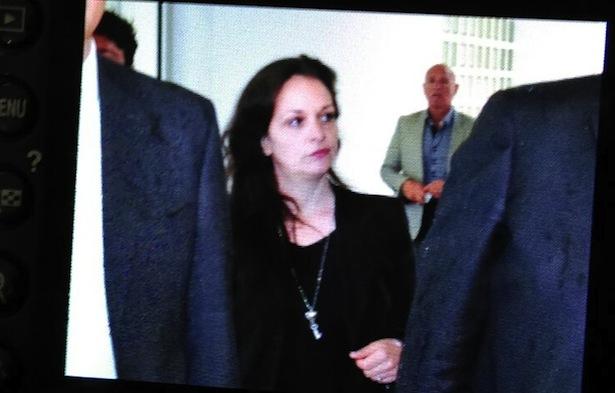 Ester Quici bei einer früheren Verhandlung im Gerichtspalast (Foto: Karl Oberleiter)