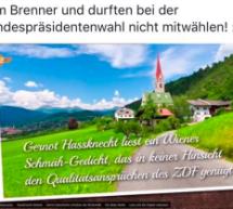 """Die Birne hohl …"""