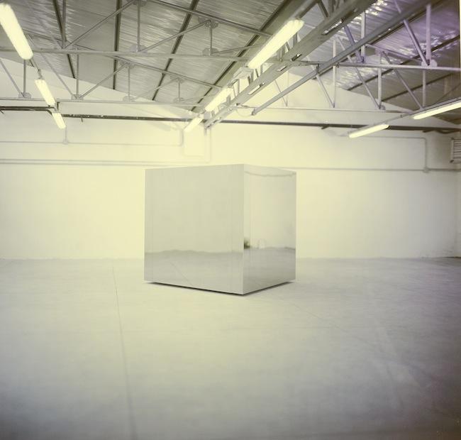 Christian Martinelli: Cubo in acciaio