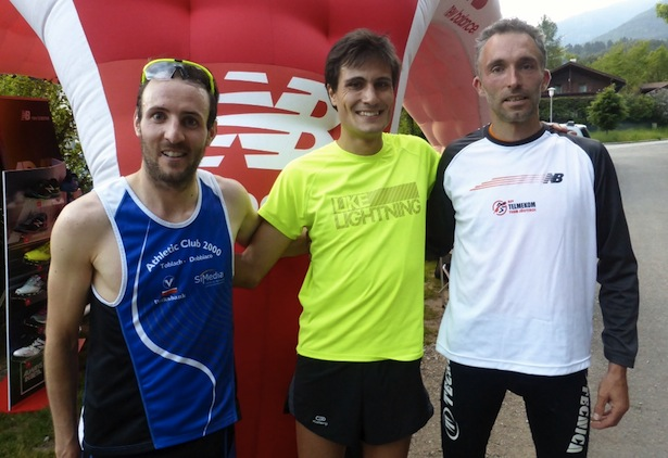 Daniel Hackhofer, Gianmarco Bazzoni und Ulrich Gross