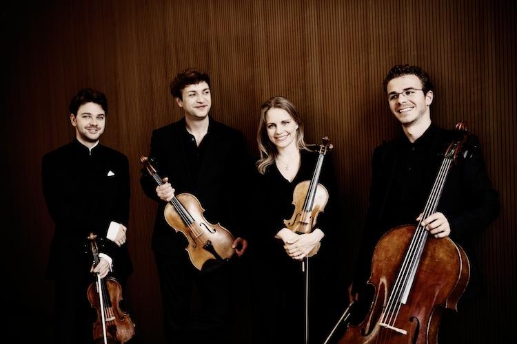 Julia Fischer Quartett: Vier Solisten spielen Quartett (Foto: Irene Zandel)