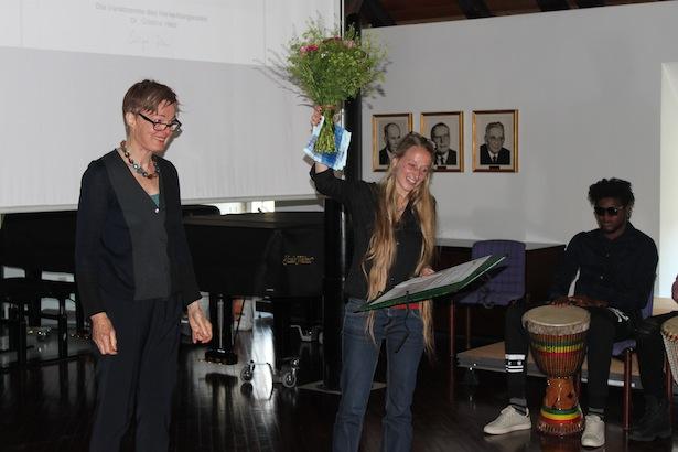 Monika Weissensteiner (re.) mit Cristina Herz