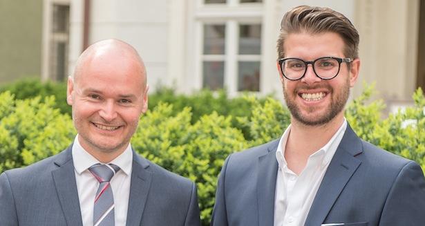 Cristian Kollmann und Alexander Wurzer