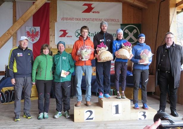 Die Tagessieger in Oberwielenbach