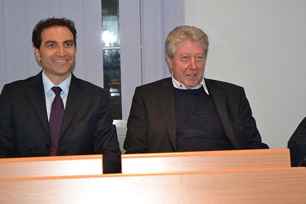 Mario Tagnin und Renzo Caramaschi