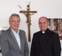Präsident trifft Bischof