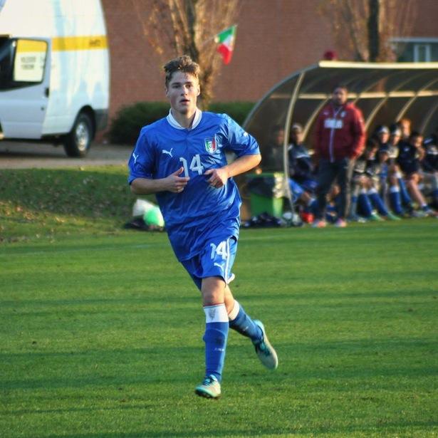 Alex Demetz im Trikot der Nationalmannschaft