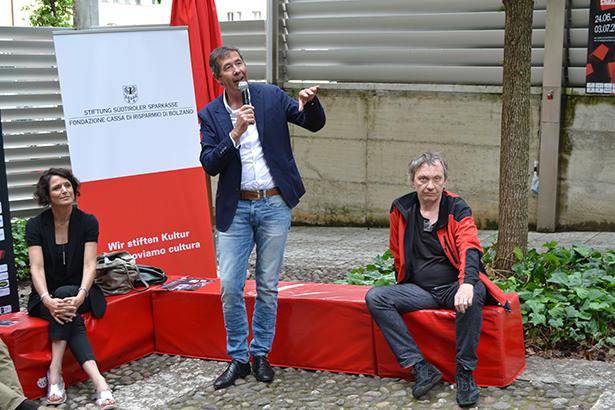 Jazzpräsident Klaus Widmann: Experimente wagen, das ist die Philosophie des Jazzfestivals.