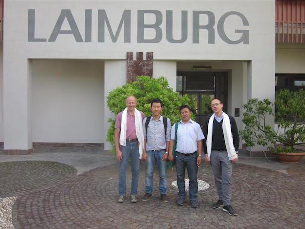 Die tibetische Delegation hat sich auch in der Laimburg Impulse geholt.