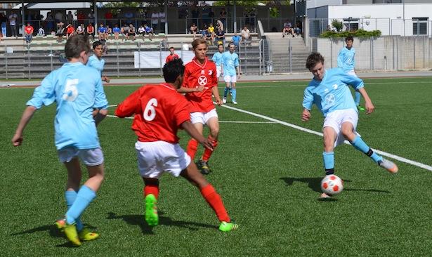 Spielszene aus dem U15-Finale