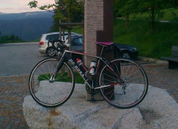 Eines der gestohlenen Fahrräder