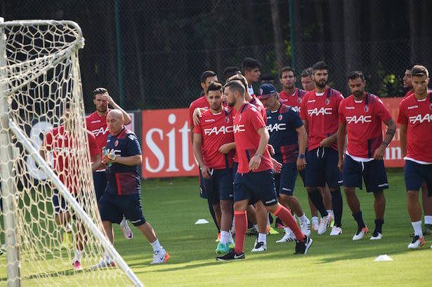Bologna in Kastelruth: Erste Trainingseinheiten absolviert. (Foto: Facebook)
