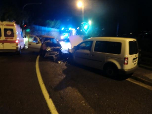 Der Unfall (Fotos: FF Marling)