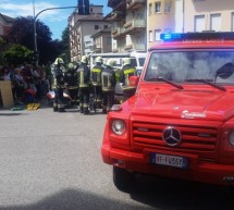 Unfall in Leifers