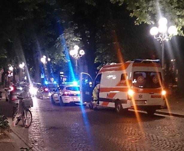 Polizeieinsatz im Bahnhofspark (Fotos: Asscociazione Sicurezza)