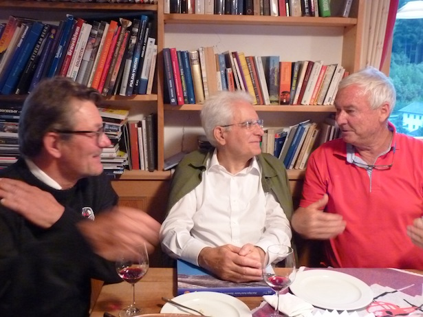 Gino Comelli, Staatspräsident Sergio Mattarella, Raffael Kostner