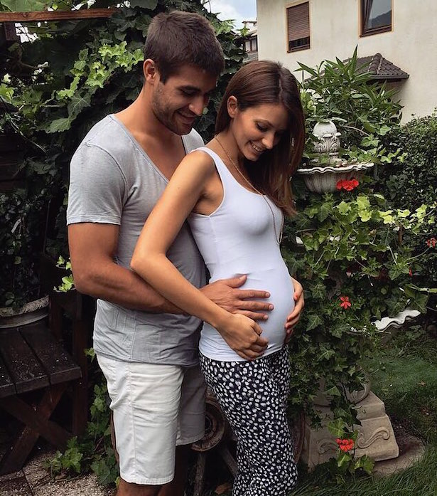 Anton Bernard und Petra Colafati erwarten Nachwuchs.