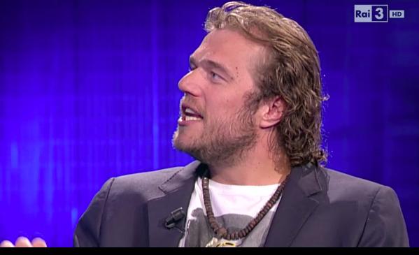 Alexander Polli bei einem TV-Interview
