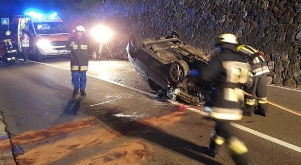 Der Unfallwagen (Foto: FF St. Pankraz)