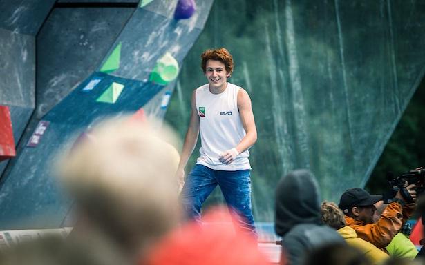Der lachende Sieger: Filip Schenk (Fotos: Lukas Ennemoser)