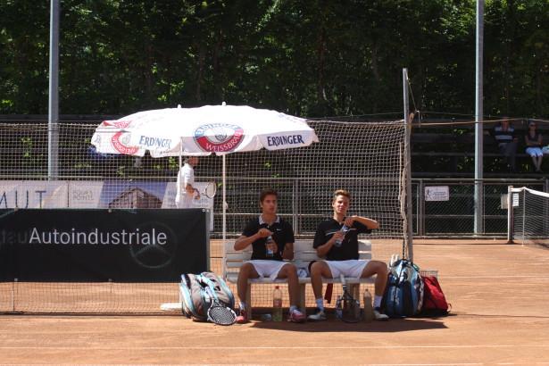 Das Südtiroler Doppel Moritz Trocker und Daniel Gitzl