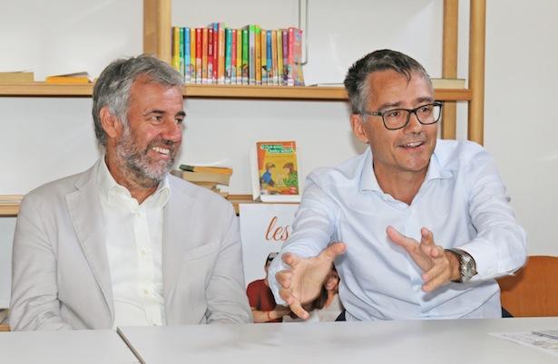 BM Paul Rösch und Zannella