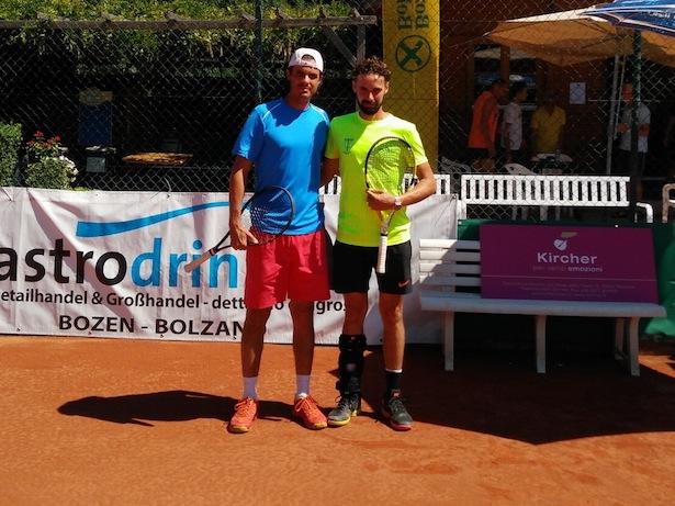 Massimiliano Palumbo und Marco Morganti