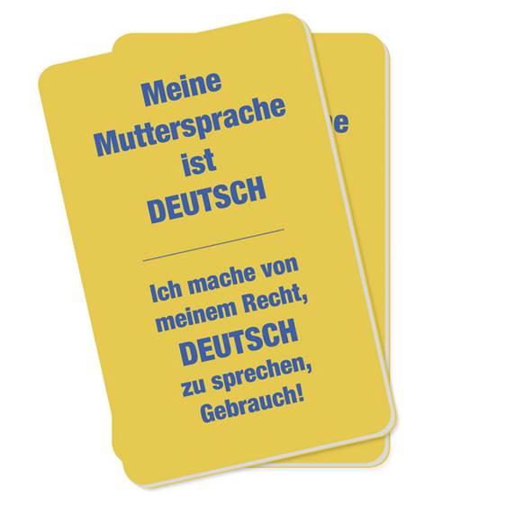 """""""Recht auf Muttersprache"""": Kampagne des Heimatbunds"""