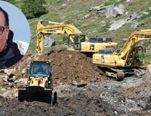 Baustopp in Schnals