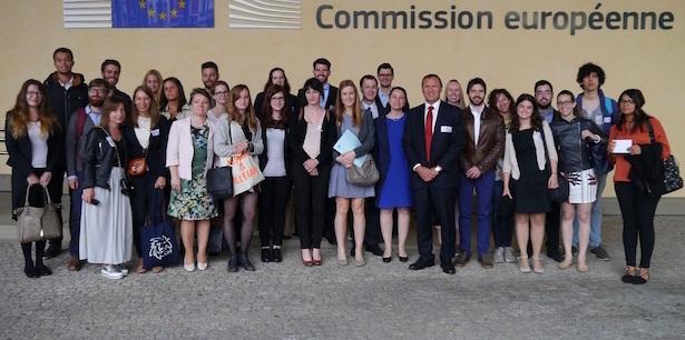 Die Teilnehmer der Alpeuregio Summer School haben zwei spannende Wochen in Brüssel erlebt.(Foto: LPA)